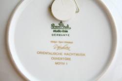 ヴィヨルン・ヴィンブラッド/色絵皿