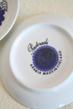 アラビア小皿、裏面